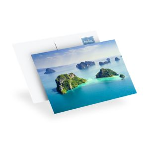 personnalisation de Cartes postales photo