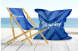 The perfect customised chairs for your outdoor area. Whether on a terrace or in an office, they will promote your brand.