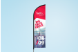 Beachflags bedrucken bei Helloprint