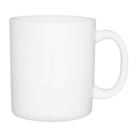 A white XXL mug available at Drukzo with personalised printing solutions for a cheap price