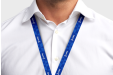 Printed lanyards personalised with your logo - available online at HelloprintConnect
