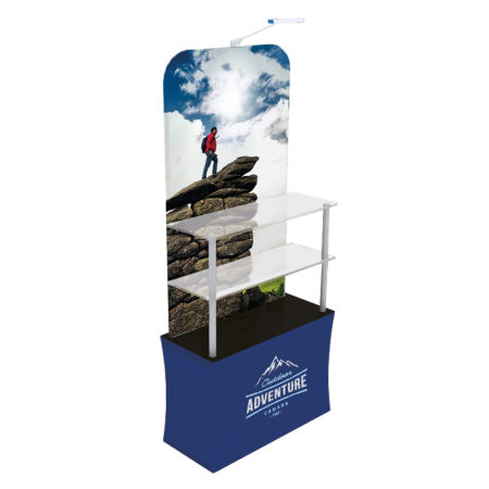Get your uniquely designed display rack printed at Helloprint. Perfect for the holding your important items at the office.