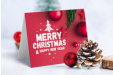 Custom Printed Christmas Cards available at Helloprint