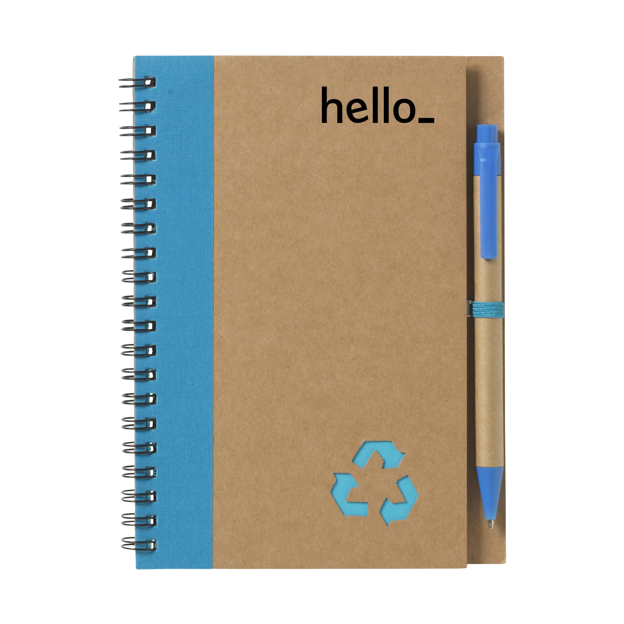 Recycled Notitieboek - Groot formaat