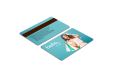 Print PVC cards with magnetic strips at the best price at Helloprint
