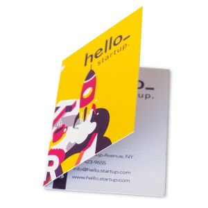 Cheap Folded Business Card Printing all over the UK
