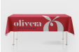 Custom tablecloths - personalised online with HelloprintConnect