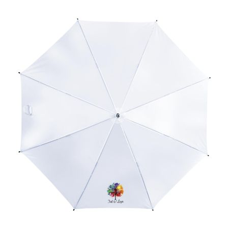 Custom standard umbrellas with your logo and design at the best price with Helloprint