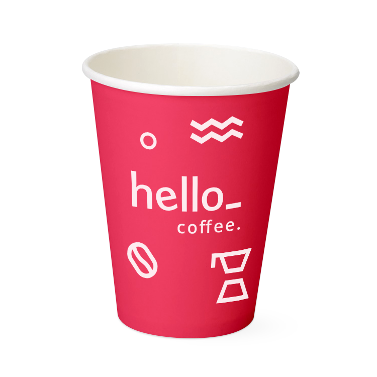 A black coloured paper cup cap for the custom printed paper cups available at HelloprintConnect at cheap prices