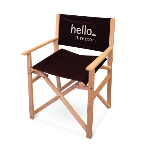 standing Directors Chairs