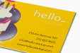 Cheap Spot UV Business Card Printing all over the UK | Free delivery and 100% satisfaction guarantee for all personalised spot gloss business cards with Helloprint