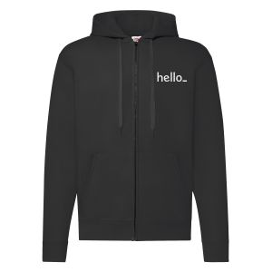 Blue Basic Zip Up Hoodies from Helloprint