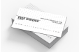 Custom printed multi-layer business cards available at simpleprint.be