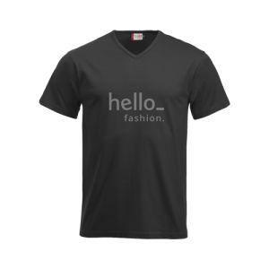 gepersonaliseerde Slim fit premium v-hals t-shirtss