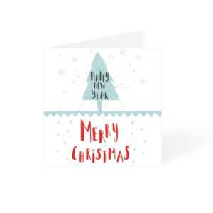 Predesigned New Year and Christmas Card printing