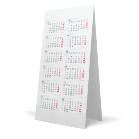 Have your own personalized desk month calendar by ordering at Helloprint and make sure you can't forget any important events.