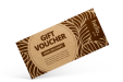 Eco Friendly Vouchers with Kraft Paper from Helloprint
