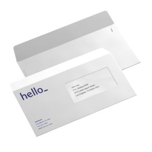 Standard Envelopes personalisation