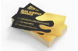 Custom print business cards with special material at simpleprint.be