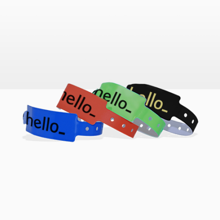Get your uniquely designed wristbands at Helloprint. Perfect to be used during events or festivals.