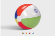Personalised beach balls - avialable online at Helloprint