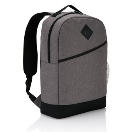 Unprinted Modern Backpack with adjustable straps available at Helloprint.