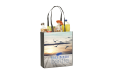 Cheap and sturdy tote bag with long straps, ideal for shopping. Personalise it at Helloprint with your own logo or design.