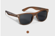 Wooden sunglasses, personalised online with HelloprintConnect