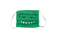 Animal design : crocodile mouth printed on children face masks available online on Helloprint