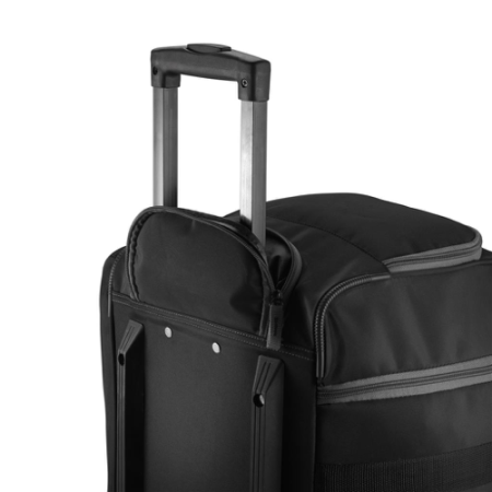 Lightweight Weekend Trolley Bag with roller wheels, available at Helloprint