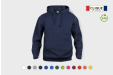 Image of a Clique hoodie that can personalised with your design.
