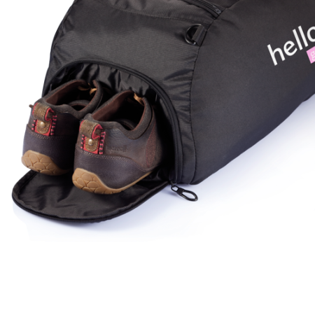 Shoe compartment Sports Bag with Shoe Compartment, printed at Helloprint