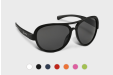 Aviator style sunglasses, personalised online with HelloprintConnect