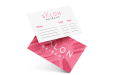 Appointment cards for a hair salon - high quality print available at Helloprint