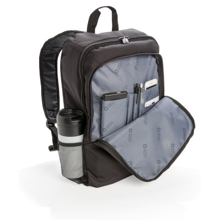 Personalised Business Backpack with compartments for all your needs, available at Helloprint.