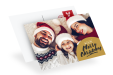 Custom Photo Christmas cards available at drukfabriek.nl