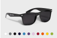 Personalised Malibu Sunglasses in black with many colour choices - order online with HelloprintConnect
