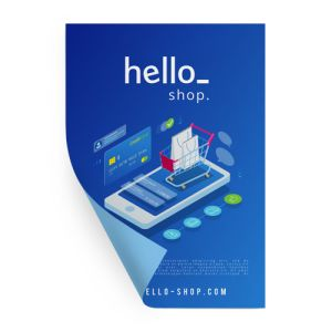 Cheap Blueback Poster printing all over the UK | Free delivery and 100% satisfaction guarantee for all personalised blueback posters with Helloprint