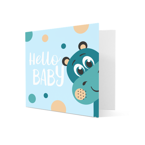 Birth Announcement Cards personalisation