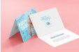 A photo card and invitation banner highlighting printed photo cards and invitations available at HelloprintConnect for a cheap price