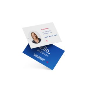Cheap Standard Business Card Printing all over the UK | Free delivery and 100% satisfaction guarantee for all personalised business cards with Helloprint