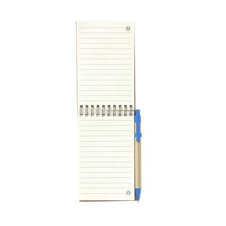 Cheap medium-sized recycled notebook with Helloprint. Learn more about our products and easily order print online.