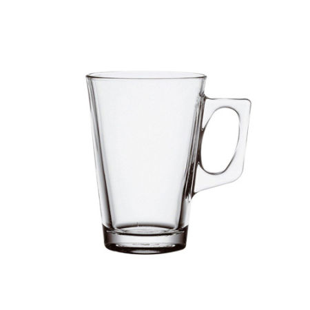 A 25 cl glass tea cup available with personalised printing options for a cheap price at Helloprint