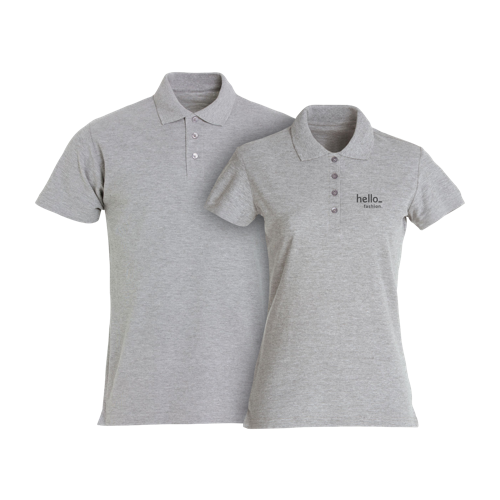 standing Basic Polo Shirts