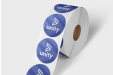 Stickers op rol (zonder dispenser)