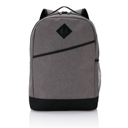 Custom Printed Modern Backpack with various compartments available at Helloprint.