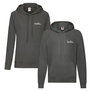 Side Sleeve Promo Hoodies available at Helloprint