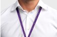 Personalised lanyards with your own company name - available online at HelloprintConnect