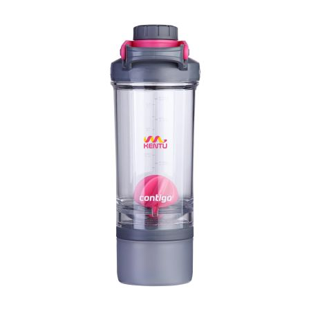 Outdoor water bottle. Contigo Shake & Go. Awesome for your colleagues. Produced by Helloprint