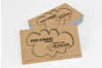 Custom printed eco business cards available at Printking
